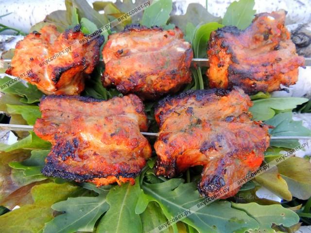 Шашлык свинины пошаговый рецепт фото