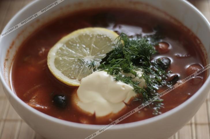 солянка рецепт приготовления пошаговый