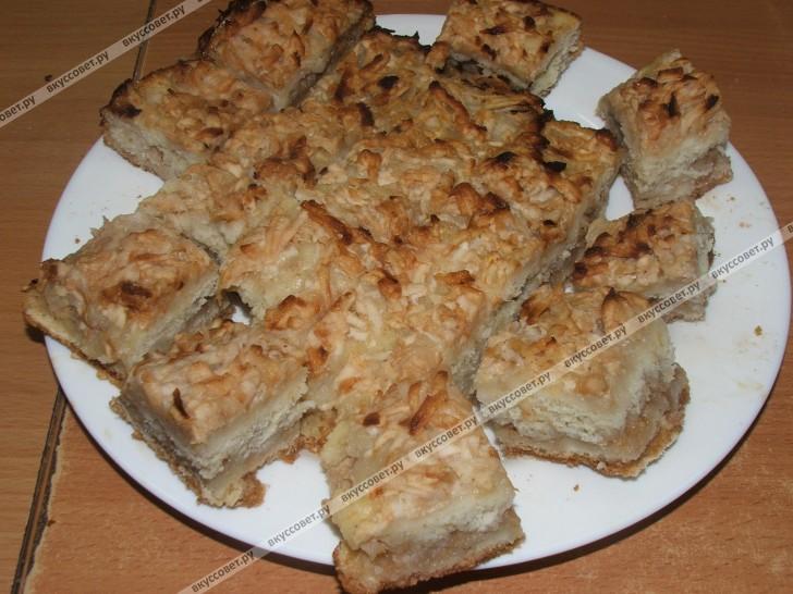Яблочный пирог БОЛГАРСКИЙ пошаговый рецепт с фото