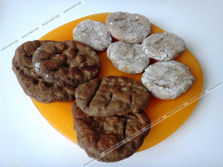 Постные лепешки пошаговый рецепт с фото