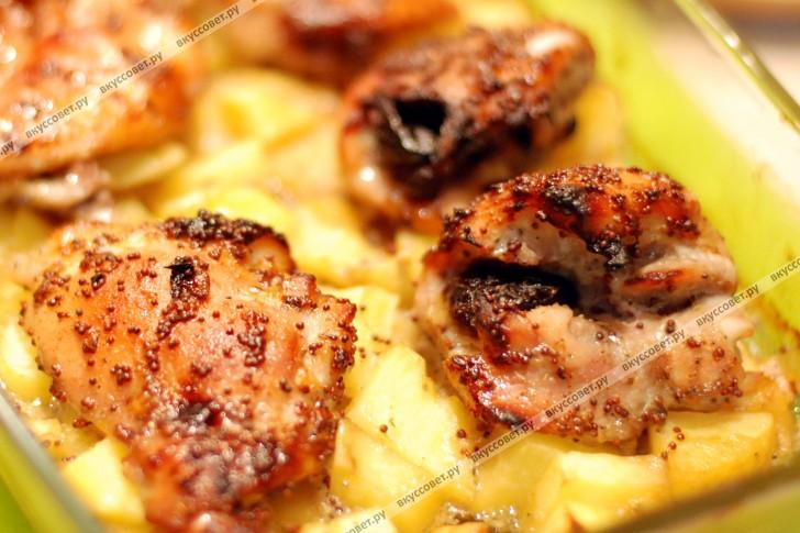 Курица с черносливом пошаговый рецепт фото