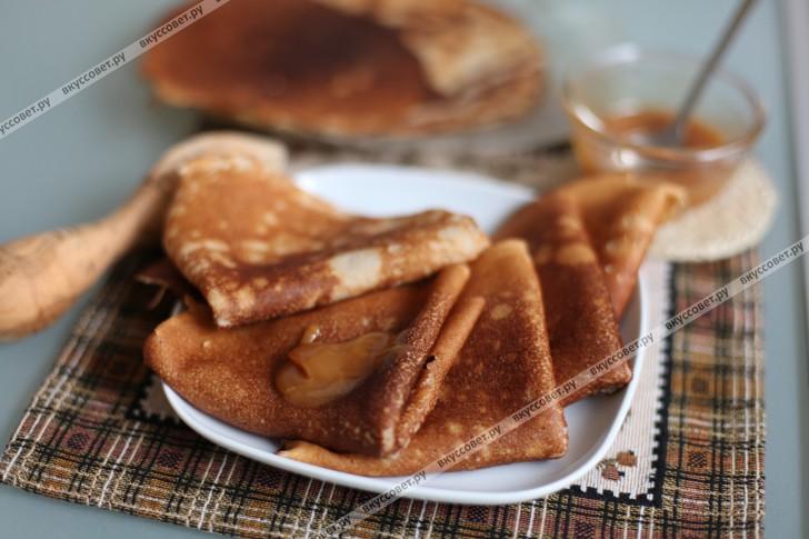 Блины из гречневой муки пошаговый рецепт с фото
