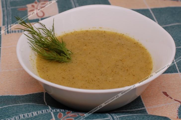 Суп-пюре из брокколи пошаговый рецепт с фото