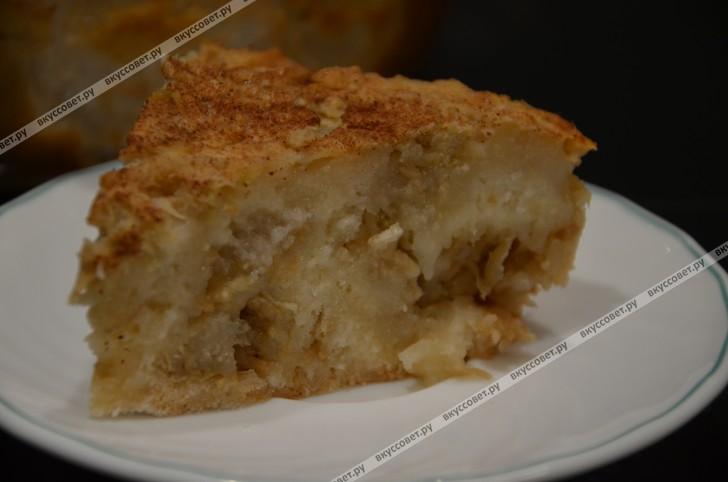 Болгарский яблочный пирог пошаговый рецепт с фото