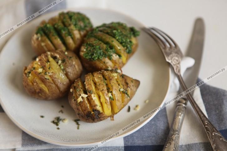 мелкий картофель запеченный в духовке рецепт с фото в