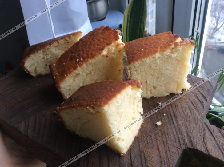 Кекс на кефире пошаговый рецепт с фото