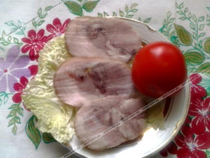 Пошаговый рецепт рульки
