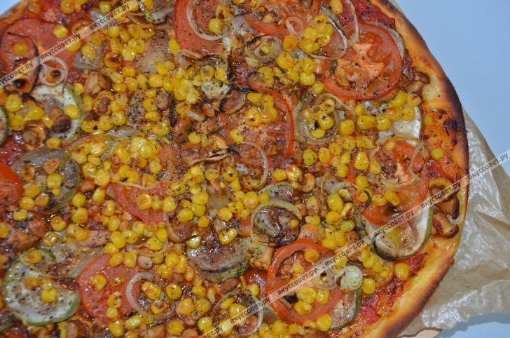 Пицца (постная) пошаговый рецепт с фото