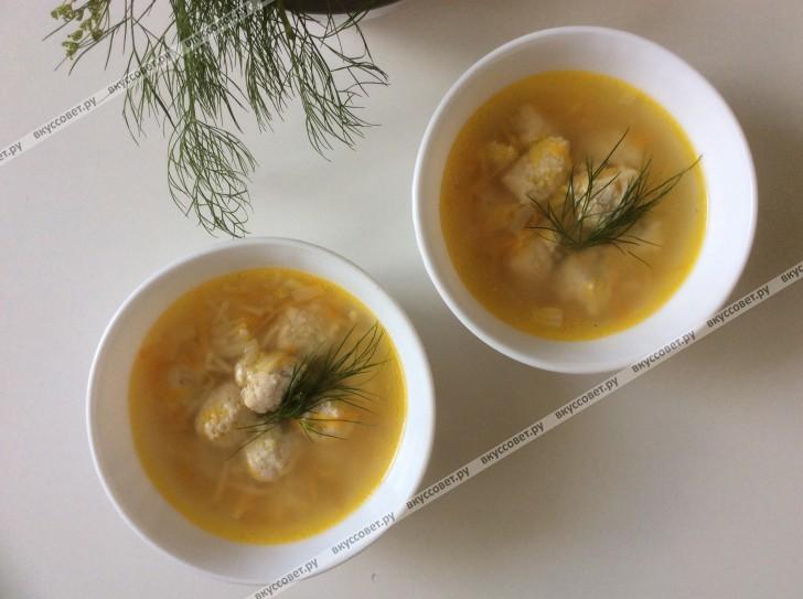 Детский суп с фрикадельками пошаговый рецепт с фото