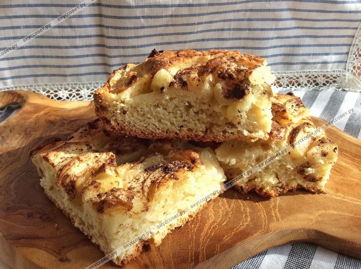 Пирожки с яблоками пошаговый рецепт с фото