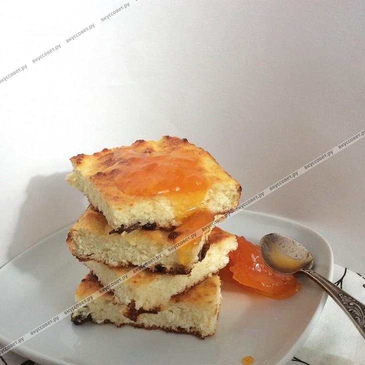 запеканка творожная с абрикосами рецепт в духовке