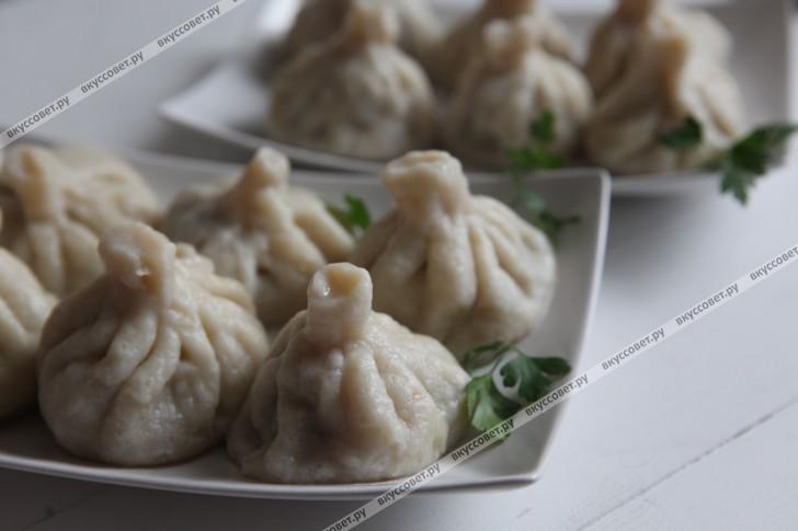 пошаговый рецепт приготовления хинкали с фото