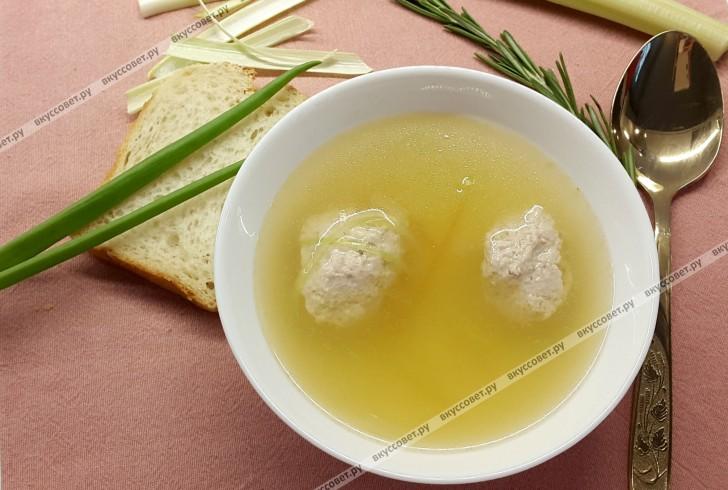 Консоме из утки пошаговый рецепт с фото