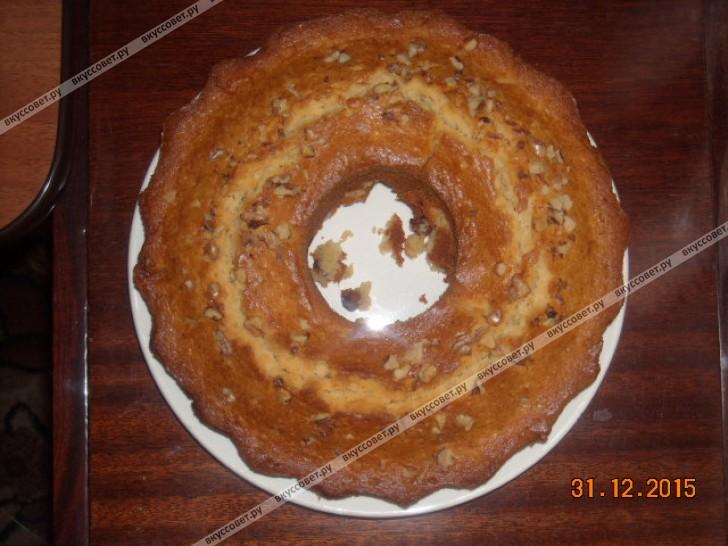 Торт с черносливом и сметанным кремом фото рецепт