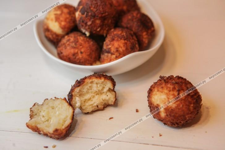 Творожные пончики пошаговый рецепт с фото