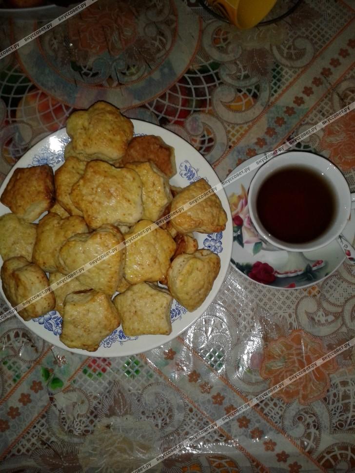 Печенье `Сметанное` пошаговый рецепт с фото