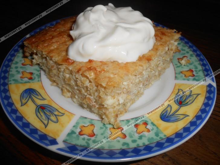 Крупеник пшеничный пошаговый рецепт с фото