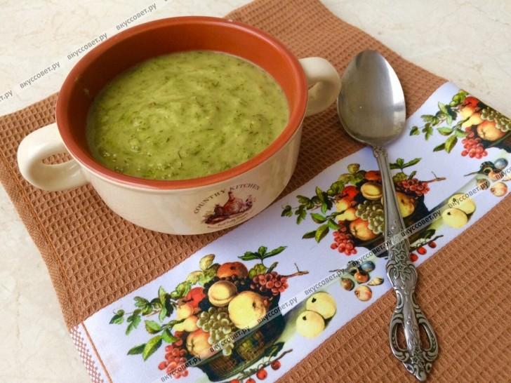 Суп-пюре из кабачков пошаговый рецепт с фото