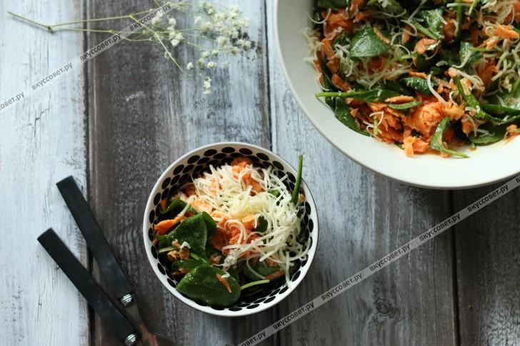 морковный корейский салат рецепт с фото