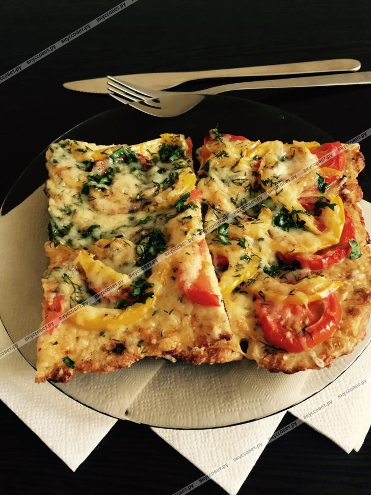 диетическая пицца для похудения рецепт