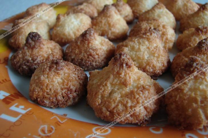 Печенье кокосанка пошаговый рецепт с фото