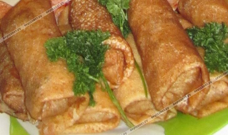 блинчики с мясом курицы рецепт с фото