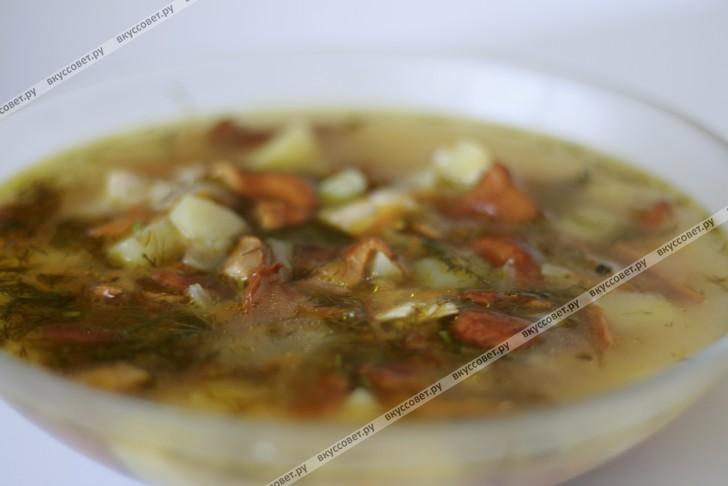 Суп с лисичками пошаговый рецепт с фото
