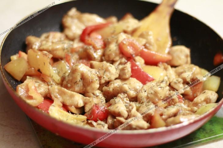 курица по аджарски рецепт с фото