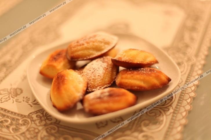 Печенье Мадлен пошаговый рецепт с фото