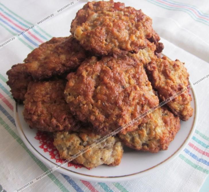 овсяное печенье пошаговый рецепт