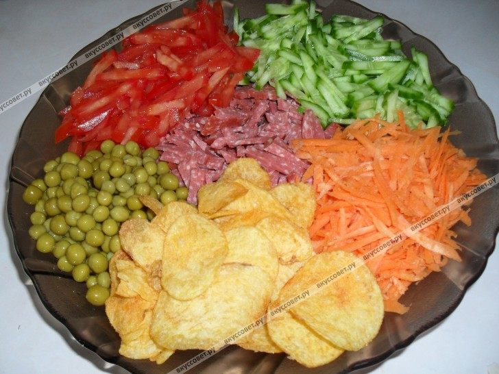 салат люция рецепт с фото