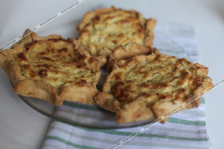 Шаньга с картошкой и творогом пошаговый рецепт с фото