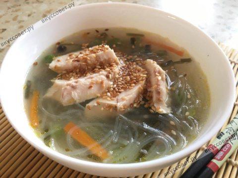 суп с фунчозой рецепт с фото