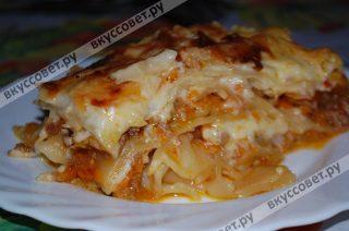 Изумительно вкусное итальянское блюдо, очень сытное и подойдет к любому празднику или на обед для большой семьи