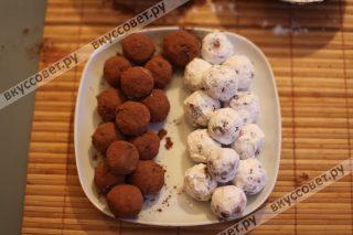Очень нежные и вкусные домашние шоколадные конфеты, тают во рту