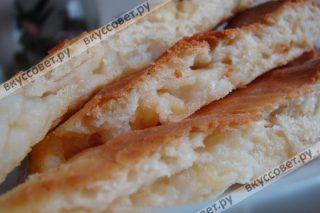 Нежный, вкусный и очень сытный осетинский пирог готов