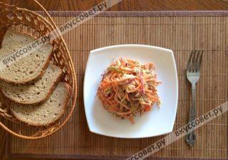 На следующий день салат становится еще вкуснее)) Приятного аппетита!