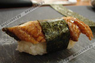 Переворачиваем и смотрим ,что ы наши суши хорошо стояли