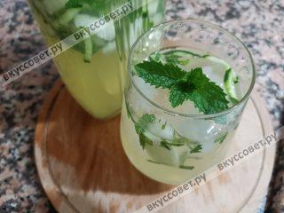 Идеальный лимонад жарким днем