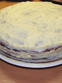 Торт ЗИМА: Что может быть вкуснее торта, приготовленного своими руками? Муж по праздникам готовит именно этот торт