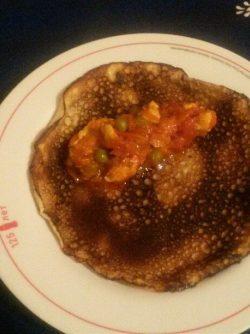 Блины с соусом `курица в томате`: Это блюдо является сложным лишь на первый взгляд.Но я вам покажу как приготовить на своей кухне это блюдо,достойное...