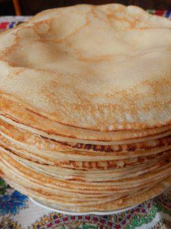Блины по бабушкиному рецепту: Самые вкусные блины, как известно, готовят наши бабушки. Печь блины по этому рецепту меня научила моя...