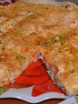 Закусочный пирог из лаваша: С помощью лаваша можно много чего приготовить. Вот сегодня готовила закусочный пирог. Времени на готовку...
