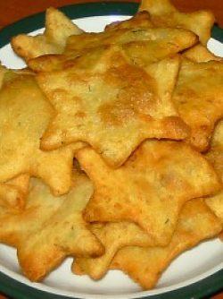 Картофельное печенье во фритюре: Время приготовления: 1 час 10 порций