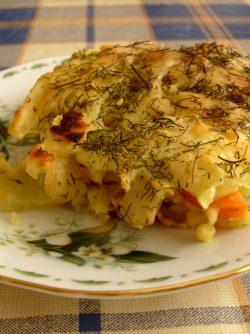 Картофельная запеканка с болгарским перцем и сыром: На мой взгляд, картофельная запеканка - это просто огромное поле для фантазии. Предлагаю свой легкий...