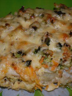 Запеканка из рыбы с брокколи: Предлагаю легкую, вкусную и полезную запеканку. Готовится быстро и уверена понравится Вам и Вашим гостям! К...