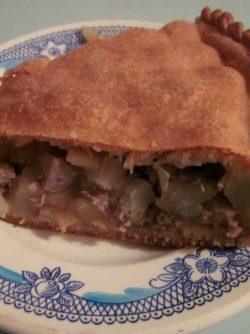 Курник из говядины с картофелем: Ох, как зимним вечером захотелось курничка с мясом и картошечкой...
